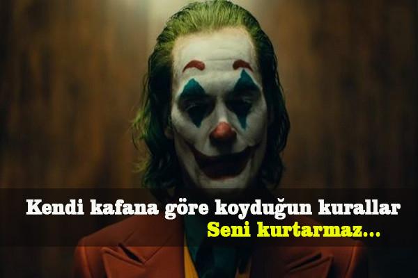 Joker Sözleri, Joker İle İlgili Sözler