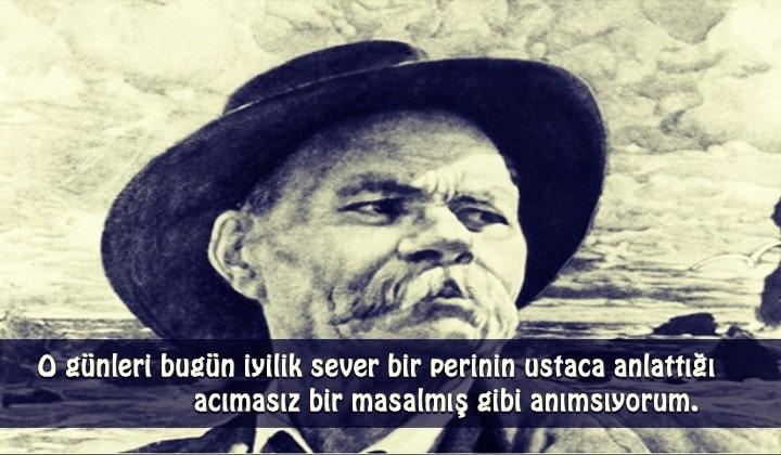 Maxim Gorki Sözleri