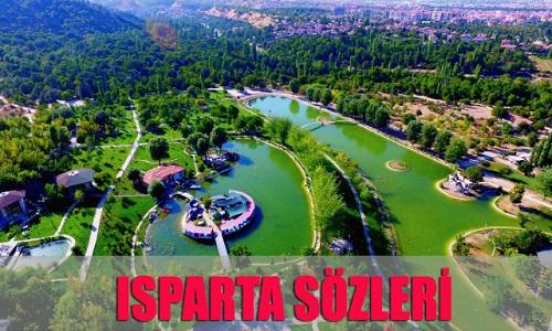 Isparta İle İlgili Sözler