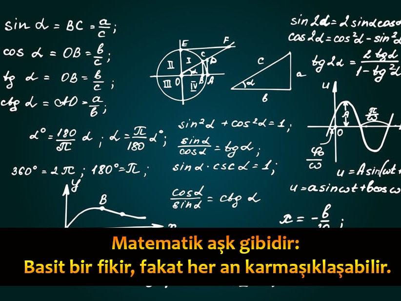 Matematik İle İlgili Sözler, Matematik Sözleri