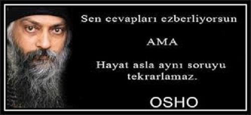 Osho Sözleri / Anlamlı / Güzel / Kısa