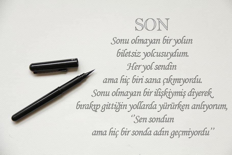 Son Sözler / Son Laflar / Son Yazılar