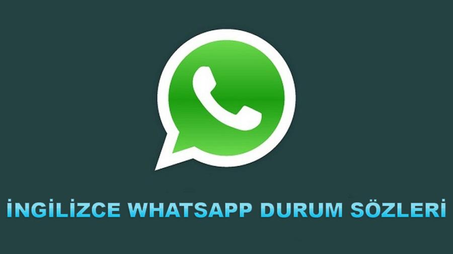 İngilizce Whatsapp Durum Sözleri / Yazıları / Yeni